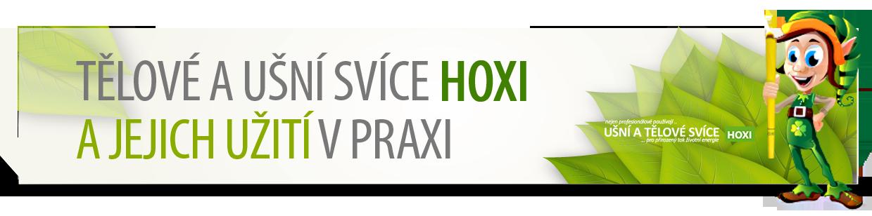 HOXI - Tělové a ušní svíce a jejich užití v praxi - návod na použití - jak aplikovat